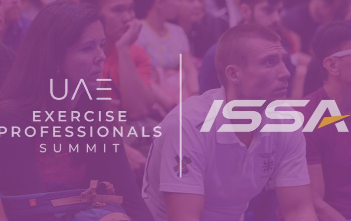 ISSA confirmed as sponsor of the UAE Exercise Professionals Summit.